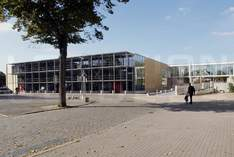 Stadthalle - Municipal hall in Neumünster