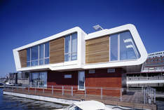 Floating Homes - Stylish venue in Hamburg - Company event