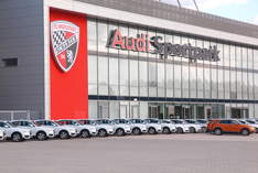 Audi Sportpark - Arena in Ingolstadt - Work party