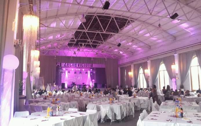 Bilder der Veranstaltungsräume - la victoria eventhalle