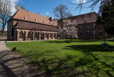 Kloster Graefenthal - Historical ruins in Goch - Exhibition