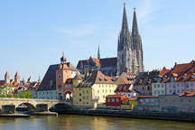 Regensburg with salt stick as eventlocation and wedding location