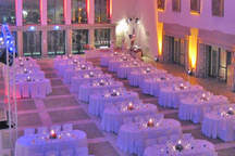 Hall Wappenhalle as an event location, meeting room and wedding lounge in Munich