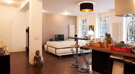 eventlocation loft in stuttgart locationguide24. Black Bedroom Furniture Sets. Home Design Ideas