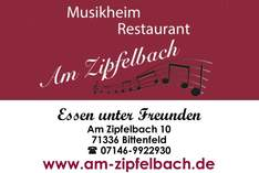 Restaurant Am Zipfelbach - Restaurant in Waiblingen - Family celebrations and private parties