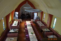 Wegwarte - Restaurant in der Holzkirche - Restaurant in Chemnitz - Family celebrations and private parties