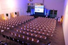 Volksbank Eventhalle - Stylish venue in Forchheim - Company event