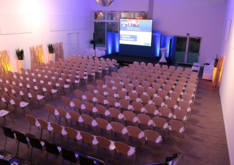 Volksbank Eventhalle - Designlocation in Forchheim - Firmenevent
