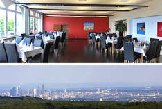 Skyline-View - Wedding venue in Kelkheim (Taunus) - Work party