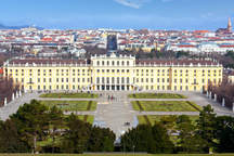 Vienna with the eventlocation and the wedding venue Schloss Schönbrunn