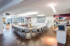 JURA World of Coffee - Conference room in Nuremberg - Film production