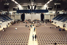 GETEC-Arena - Hall in Magdeburg - Film production