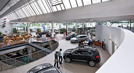 VW Showroom Düsseldorf