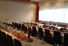 Restaurant Am Zipfelbach - Function room in Waiblingen - Family celebrations and private parties