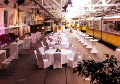 Straßenbahnwelt Stuttgart - Eventlocation in Stuttgart-Bad Cannstatt - Firmenevent