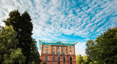 exterior view of the Jagdschloss Platte © Kajul Photography