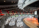 Porsche Auditorium with banquet seating